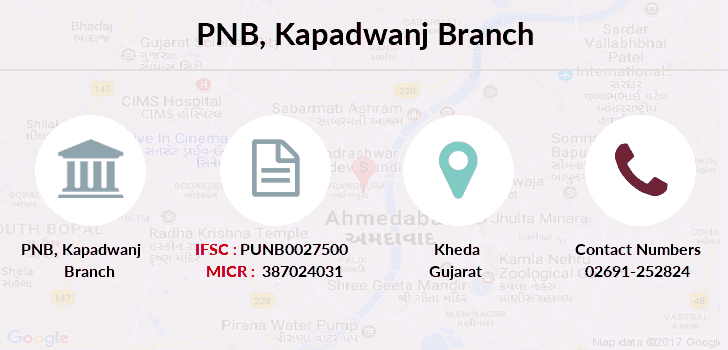 Punjab-national-bank Kapadwanj branch