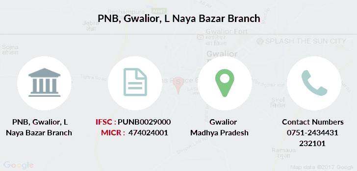 Punjab-national-bank Gwalior-l-naya-bazar branch