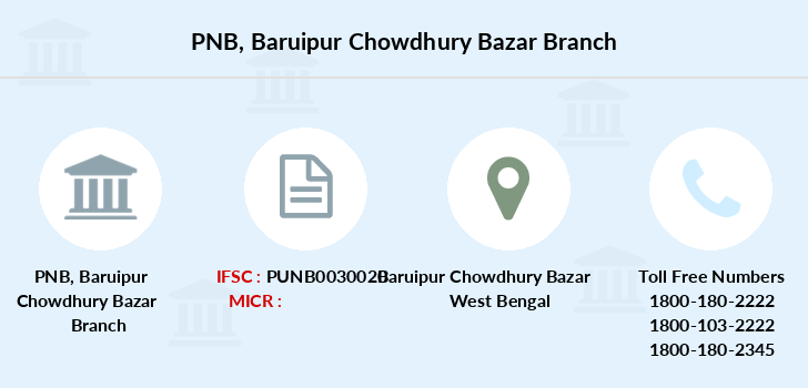 Punjab-national-bank Baruipur-chowdhury-bazar branch