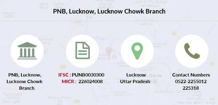 Punjab-national-bank Lucknow-lucknow-chowk branch