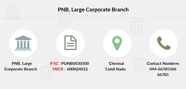 Punjab-national-bank Large-corporate branch