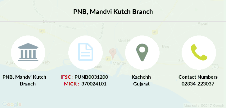 Punjab-national-bank Mandvi-kutch branch