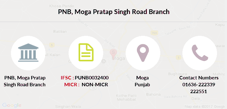 Punjab-national-bank Moga-pratap-singh-road branch