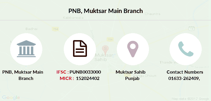 Punjab-national-bank Muktsar-main branch