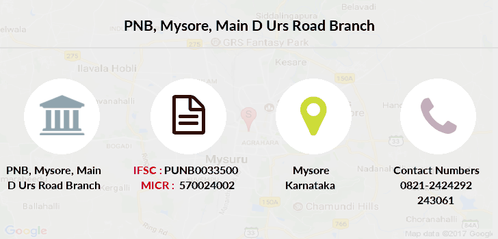 Punjab-national-bank Mysore-main-d-urs-road branch