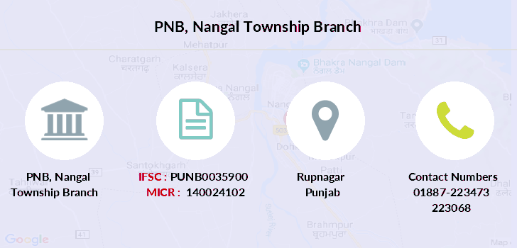 Punjab-national-bank Nangal-township branch