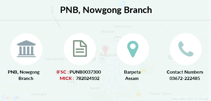 Punjab-national-bank Nowgong branch