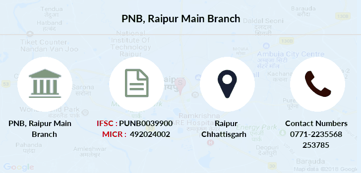 Punjab-national-bank Raipur-main branch