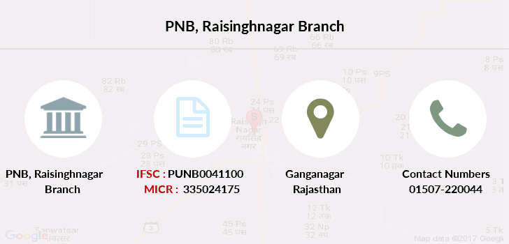 Punjab-national-bank Raisinghnagar branch