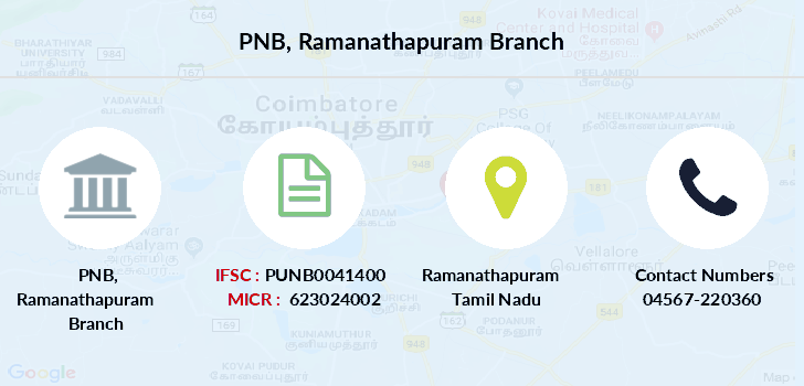 Punjab-national-bank Ramanathapuram branch