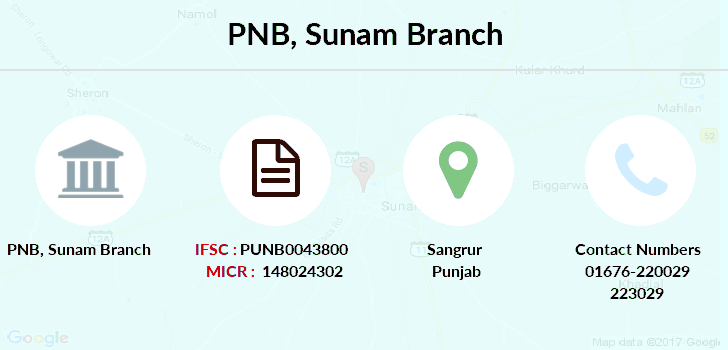 Punjab-national-bank Sunam branch