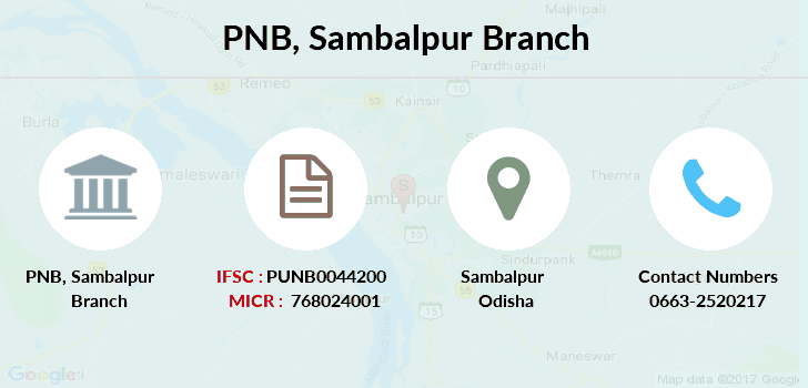 Punjab-national-bank Sambalpur branch
