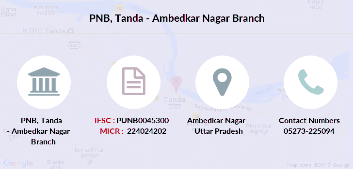 Punjab-national-bank Tanda-ambedkar-nagar branch