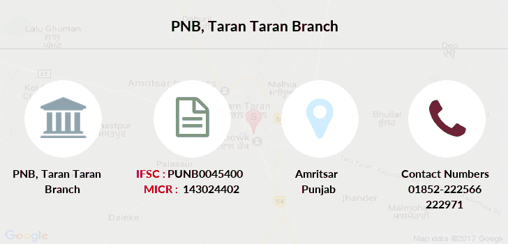 Punjab-national-bank Taran-taran branch