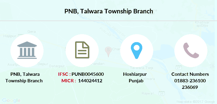 Punjab-national-bank Talwara-township branch