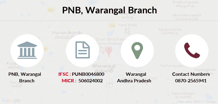Punjab-national-bank Warangal branch