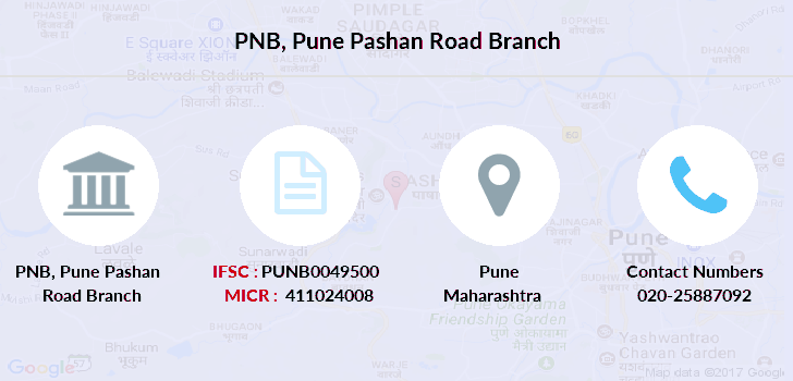 Punjab-national-bank Pune-pashan-road branch