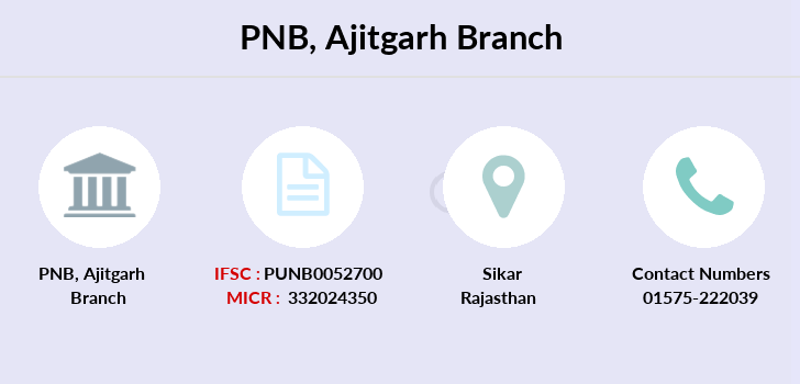 Punjab-national-bank Ajitgarh branch