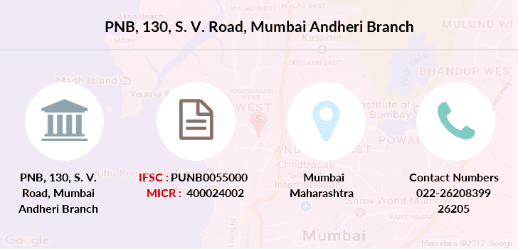 Punjab-national-bank 130-s-v-road-mumbai-andheri branch