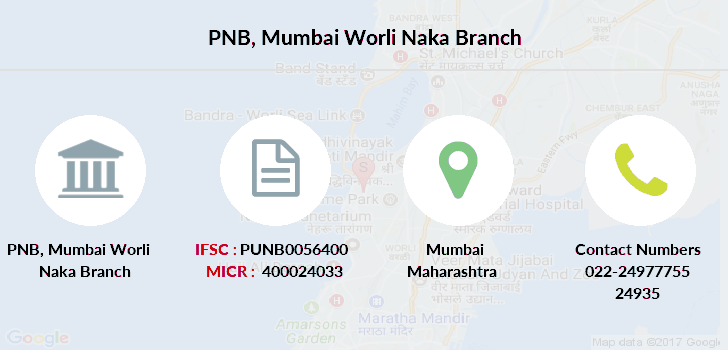 Punjab-national-bank Mumbai-worli-naka branch