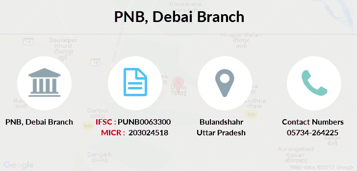 Punjab-national-bank Debai branch