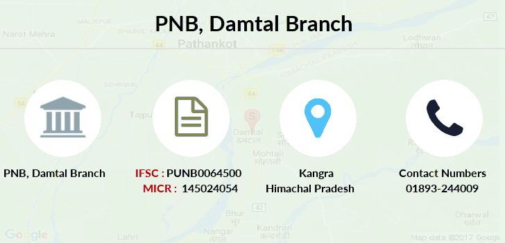 Punjab-national-bank Damtal branch