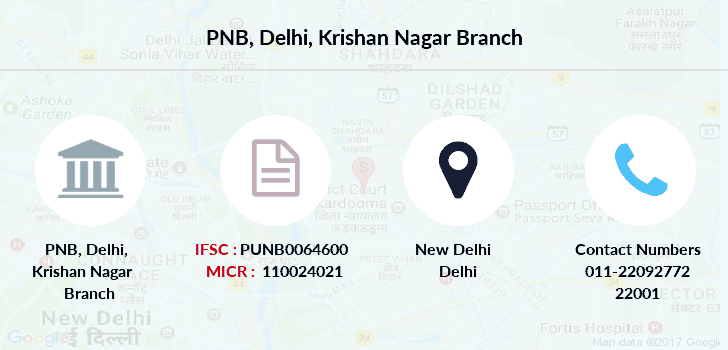 Punjab-national-bank Delhi-krishan-nagar branch