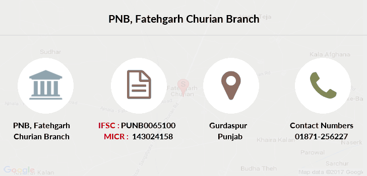 Punjab-national-bank Fatehgarh-churian branch