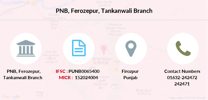 Punjab-national-bank Ferozepur-tankanwali branch