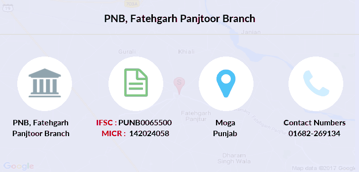Punjab-national-bank Fatehgarh-panjtoor branch