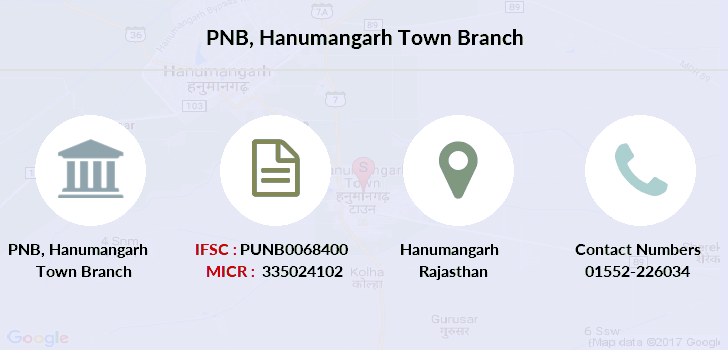 Punjab-national-bank Hanumangarh-town branch