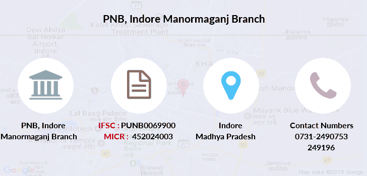 Punjab-national-bank Indore-manormaganj branch
