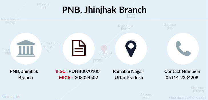 Punjab-national-bank Jhinjhak branch