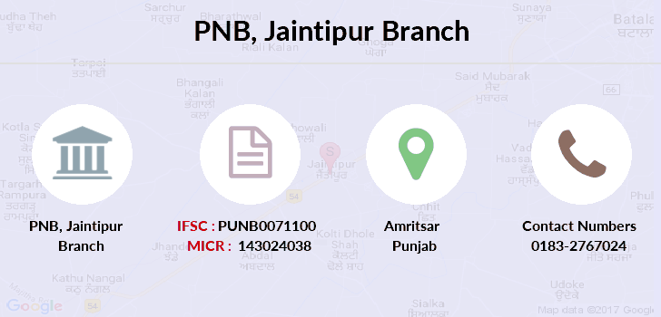 Punjab-national-bank Jaintipur branch