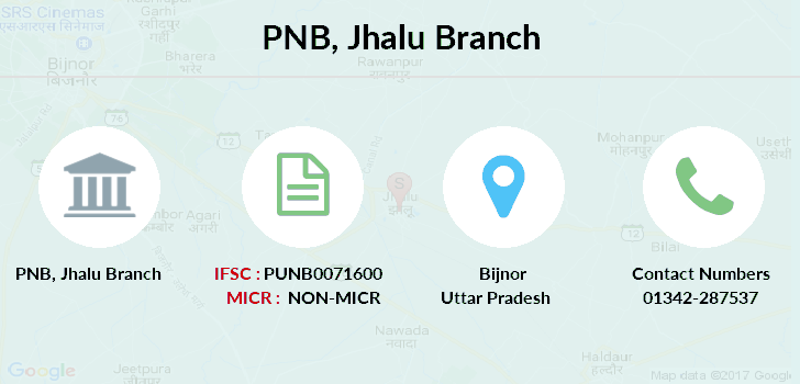 Punjab-national-bank Jhalu branch