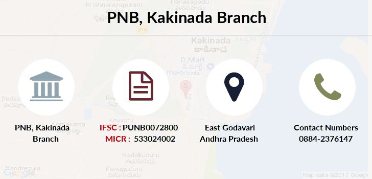 Punjab-national-bank Kakinada branch