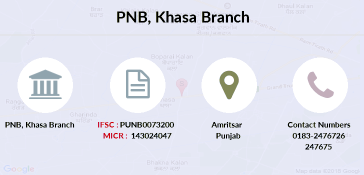 Punjab-national-bank Khasa branch