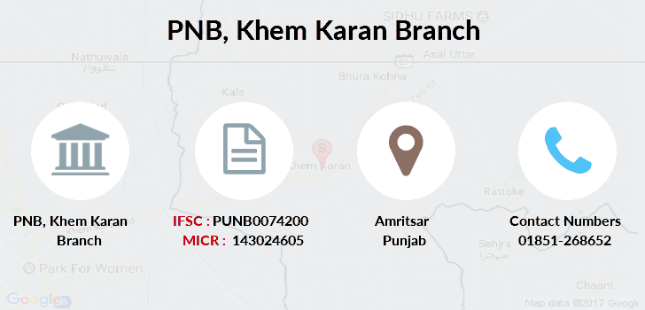 Punjab-national-bank Khem-karan branch