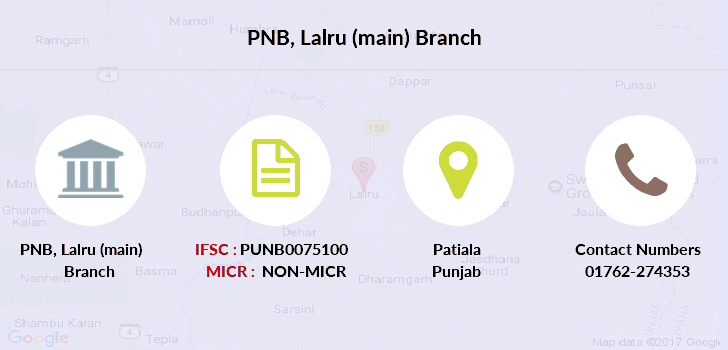 Punjab-national-bank Lalru-main branch