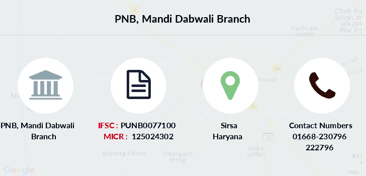 Punjab-national-bank Mandi-dabwali branch