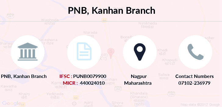 Punjab-national-bank Kanhan branch