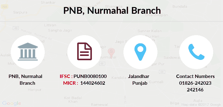 Punjab-national-bank Nurmahal branch
