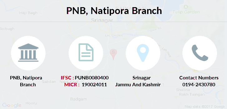 Punjab-national-bank Natipora branch