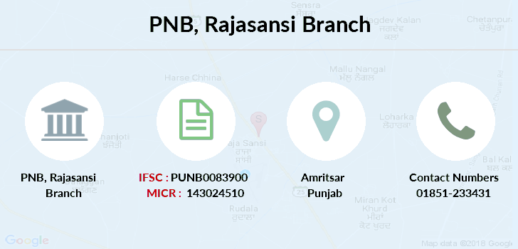Punjab-national-bank Rajasansi branch