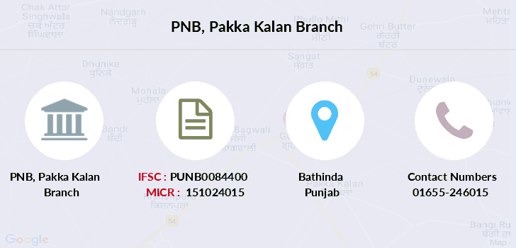 Punjab-national-bank Pakka-kalan branch