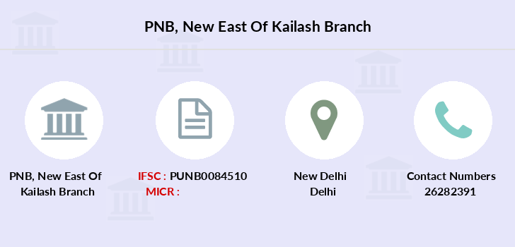 Punjab-national-bank New-east-of-kailash branch