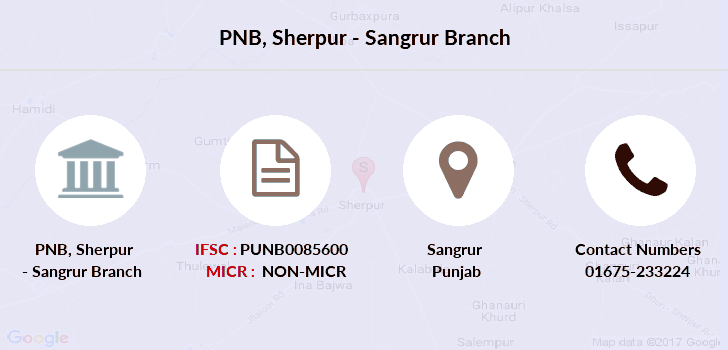 Punjab-national-bank Sherpur-sangrur branch