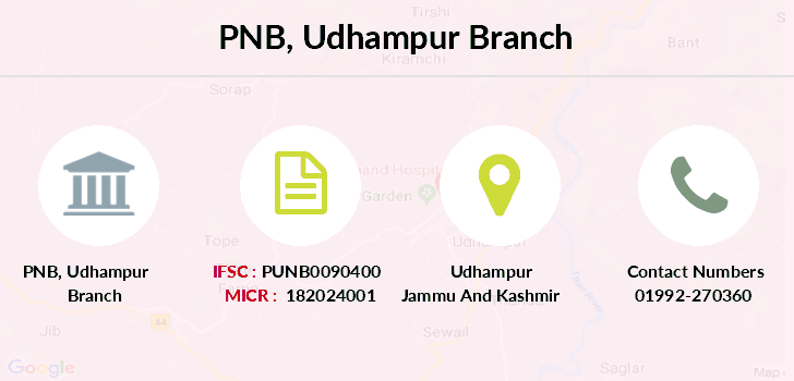 Punjab-national-bank Udhampur branch