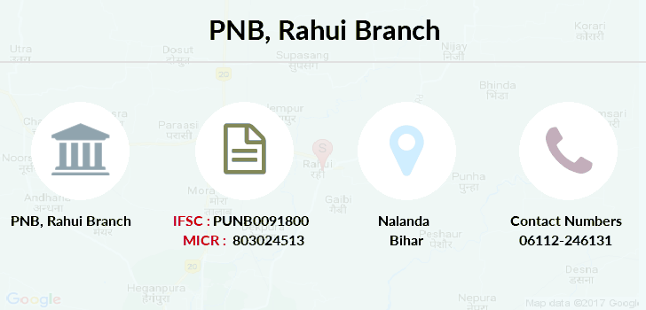 Punjab-national-bank Rahui branch