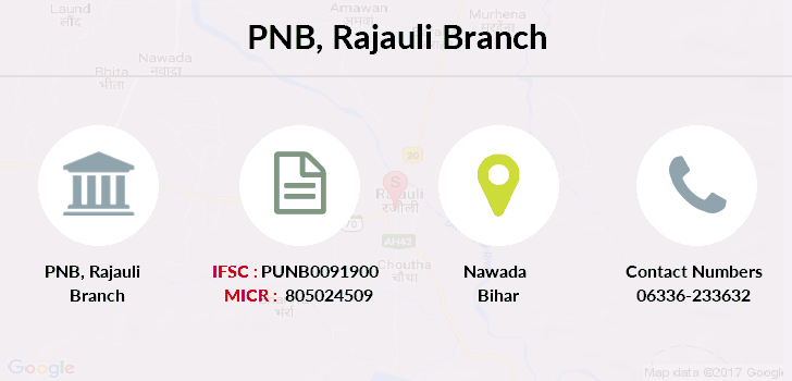Punjab-national-bank Rajauli branch